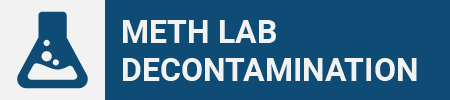 Meth Lab Decontamination Icon