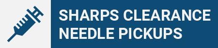 Sharps Clearance Needie Pickup Icon