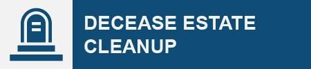 Decease Estate Cleanup Icon