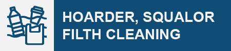 Hoarder and Squalor Gross Filth Cleaning Removal Icon
